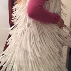 Ella Moss NEW Natural White Ivory Womens XS Vest